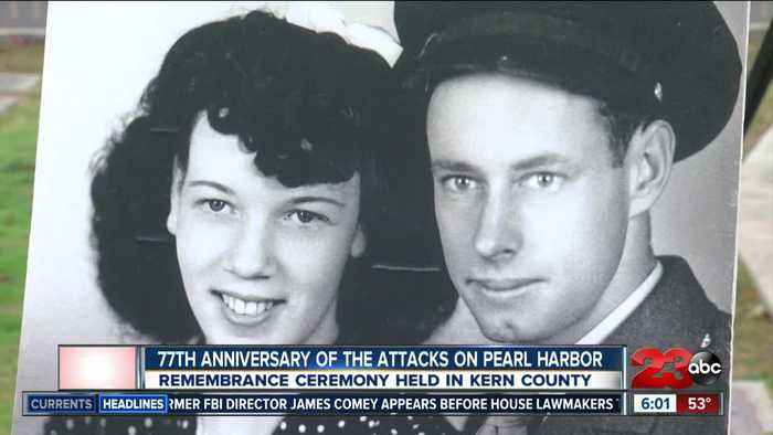 77th Anniversary of attacks on Pearl Harbor