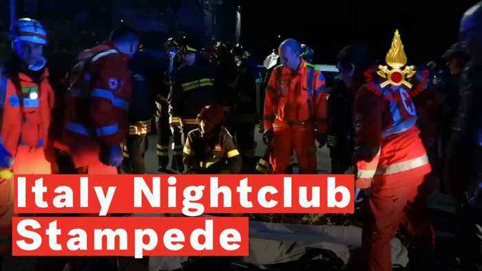 Italy Nightclub Stampede: Six Dead And Dozens Injured