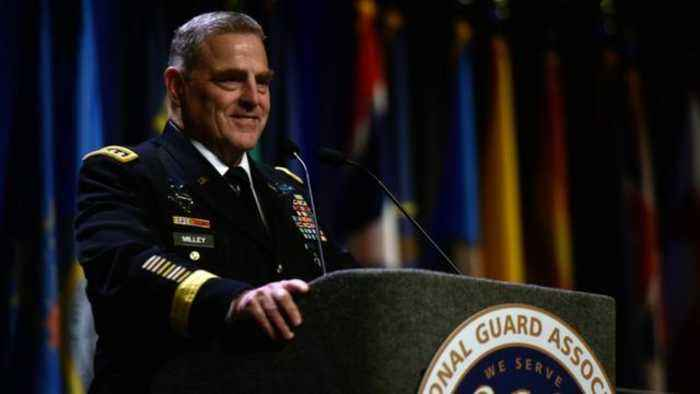 Trump Announces He's Nominating Army Gen. Mark Milley As His Next Joint Chiefs of Staff Chairman