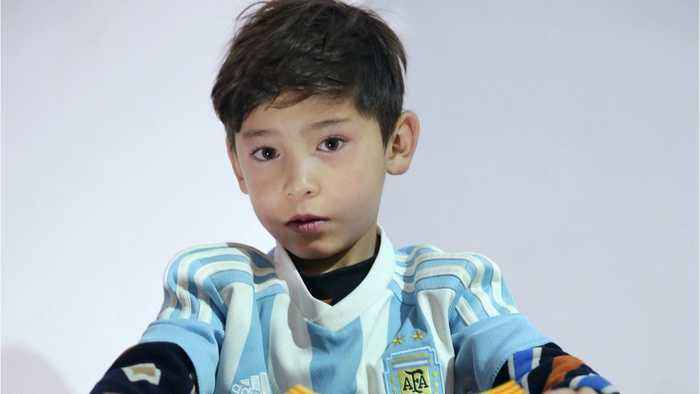Afghan 'Messi Boy' Forced To Flee Taliban