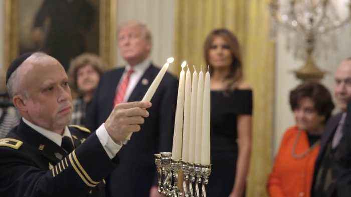 Celebrating Hanukkah At The White House