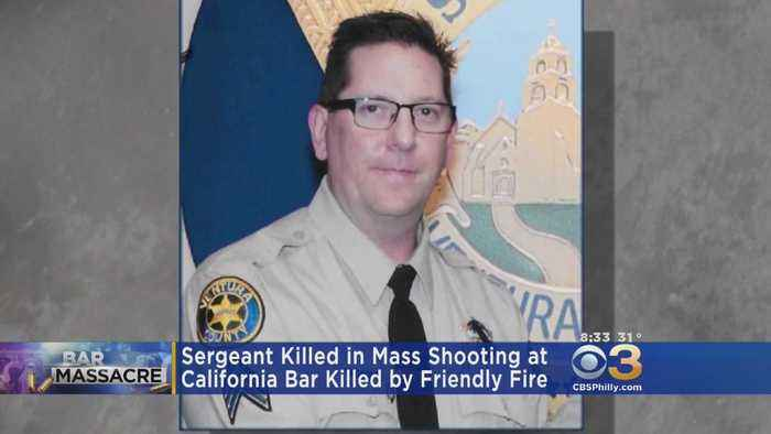 Friendly Fire Ruled As Cause Of Death For Sergeant Killed In Mass Shooting At California Bar