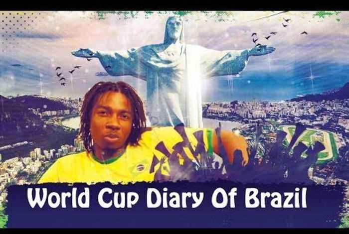 World Cup Diary Of Brazil - Here We Go!!!!