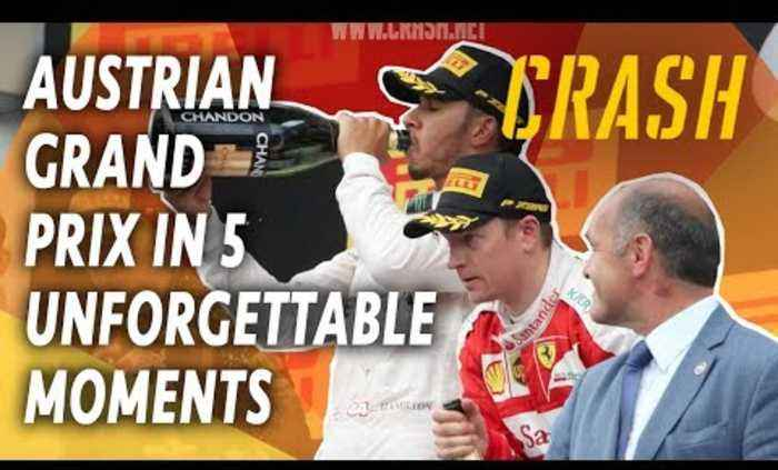 F1 Austrian Grand Prix in 5 Unforgettable Moments | Austrian GP Classic Highlights