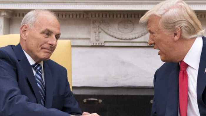 Trump considering options to replace John Kelly as chief of staff