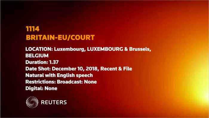 European Court Ruling Does Not Change UK's Policy on Article 50