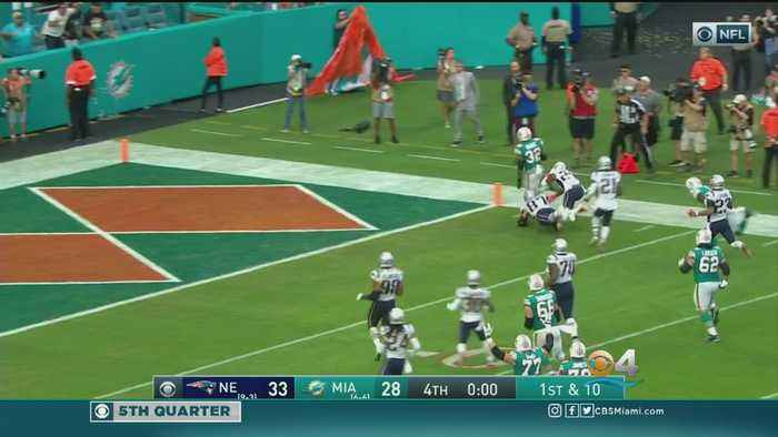 Miracle In Miami Gardens: Kenyan Drake Scores To Give Dolphins Win Over New England