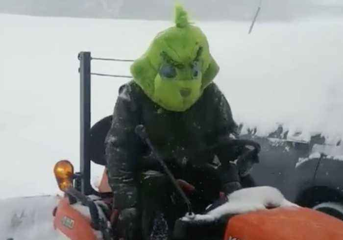 How 'The Grinch' Plows Snow in North Carolina