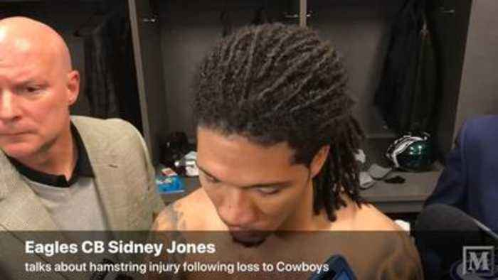 VIDEO: Eagles CB Sidney Jones speaks after Sunday's loss to Dallas Cowboys