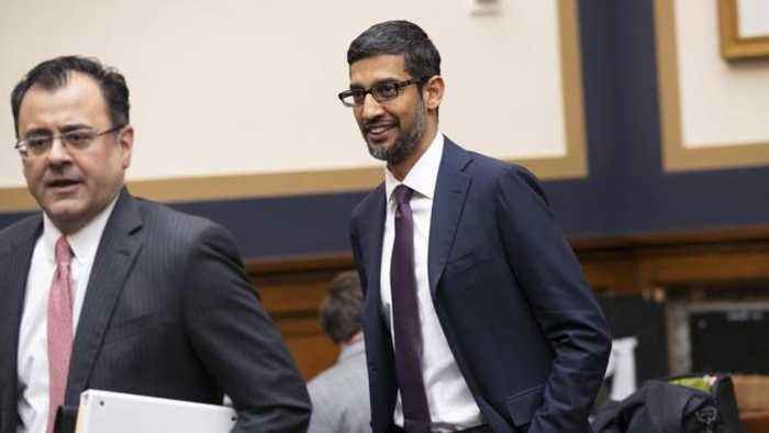 Google CEO defends search giant in congressional hearing