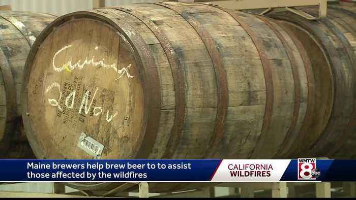 Maine brewers raising money for California Wildfires