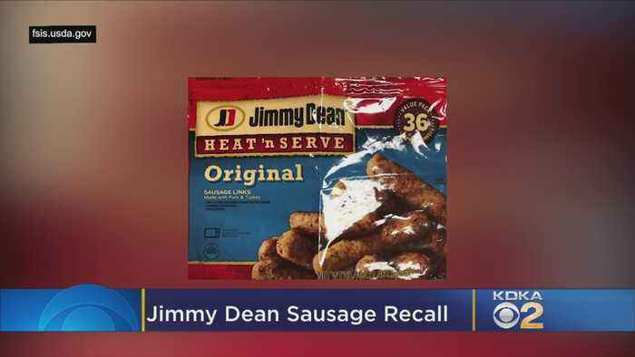 Recall Issued For 30K Pounds Of Jimmy Dean Sausages After Metal Pieces Found In Food