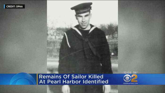 Remains Of Sailor Killed At Pearl Harbor Identified