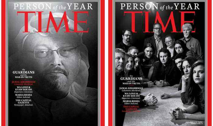TIME 2018 Person Of The Year Shortlist