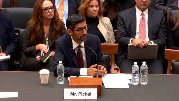 Google's CEO Pichai To Steve King: 'iPhone Is Made By A Different Company'