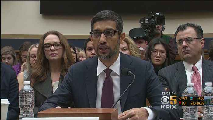 Congress Grills Google CEO On Bias, Privacy, China