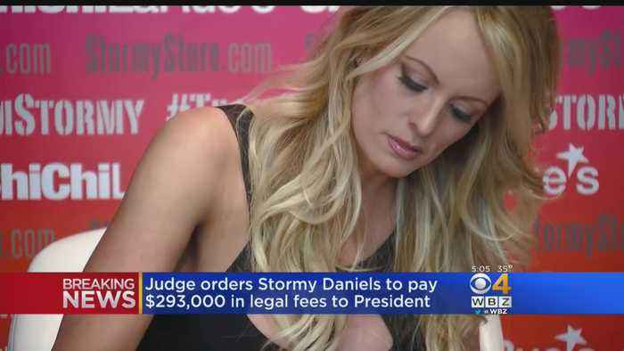 Judge Orders Stormy Daniels To Pay $293,000 In Legal Fees To President Trump