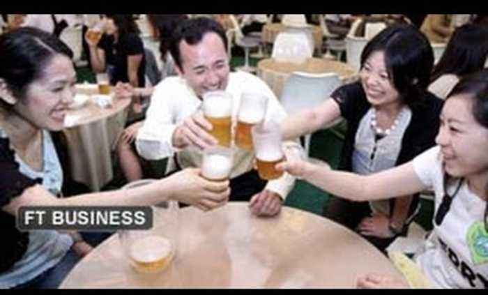 Japanese beer industry losing its fizz