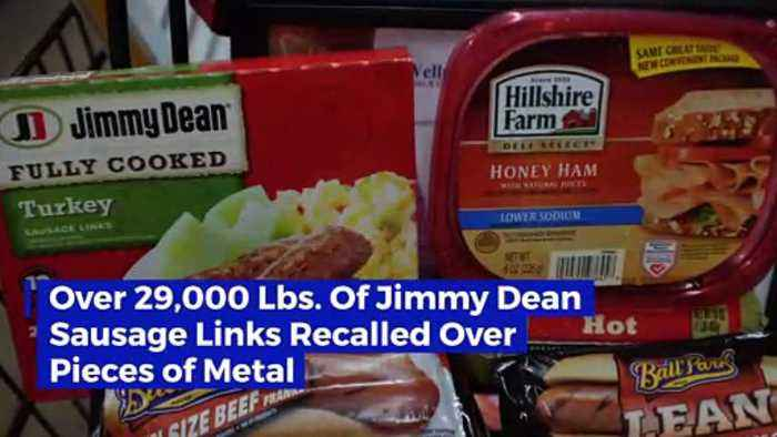 Over 29,000 Lbs. Of Jimmy Dean Sausage Links Recalled Over Pieces of Metal