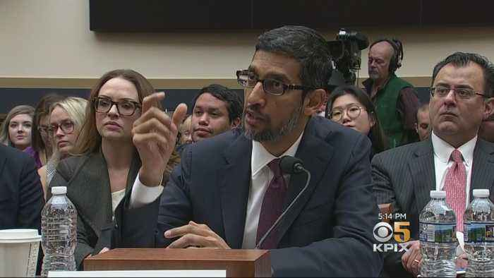 Congress Grills Google CEO On Political Bias And Privacy