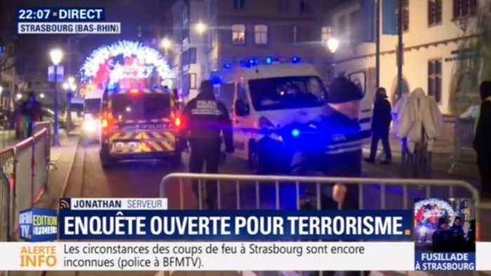At Least 3 Dead, 12 Hurt in Shooting in Strasbourg, France