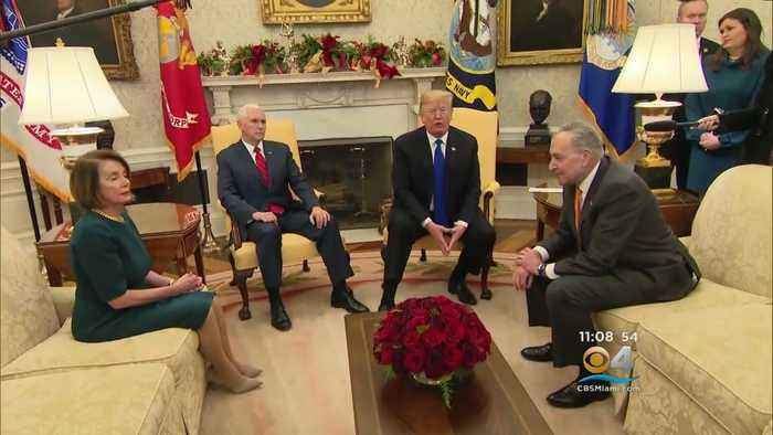 Meeting Between Trump, Pence, Pelosi And Schumer Continues To Dominate Headlines