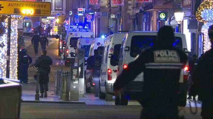 Strasbourg shooting: At least three dead, gunman at large