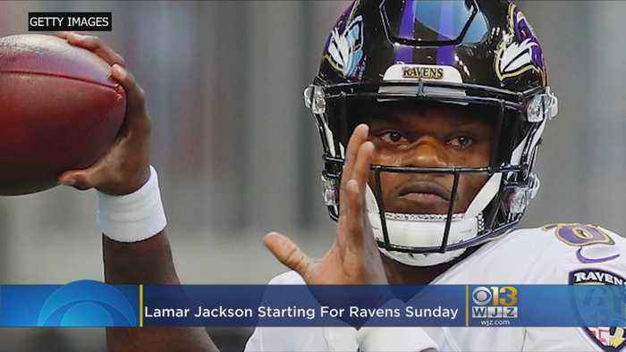Ravens Lamar Jackson Starting At QB, Joe Flacco 'Disappointed'
