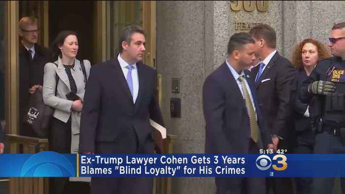 Former Trump Lawyer Michael Cohen Sentenced To Prison