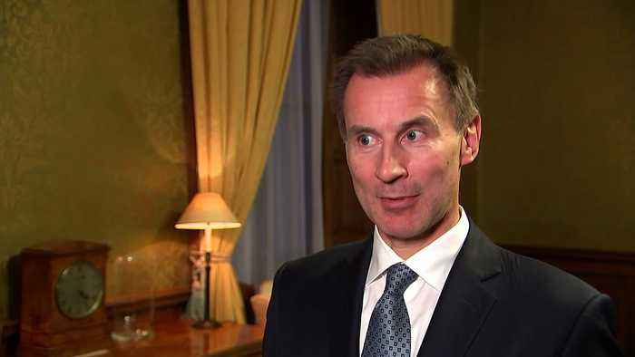 Hunt: PM being 'honest and realistic' with EU leaders