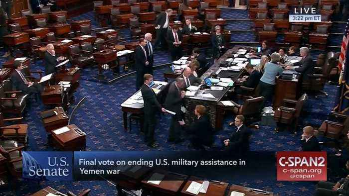 Senate Votes To End Sending U.S. Military Aid In The War In Yemen