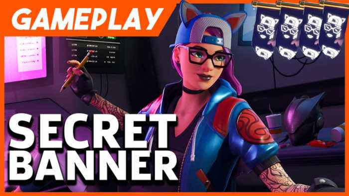 Fortnite Season 7 Week 2 Secret Banner Location One News Page Video