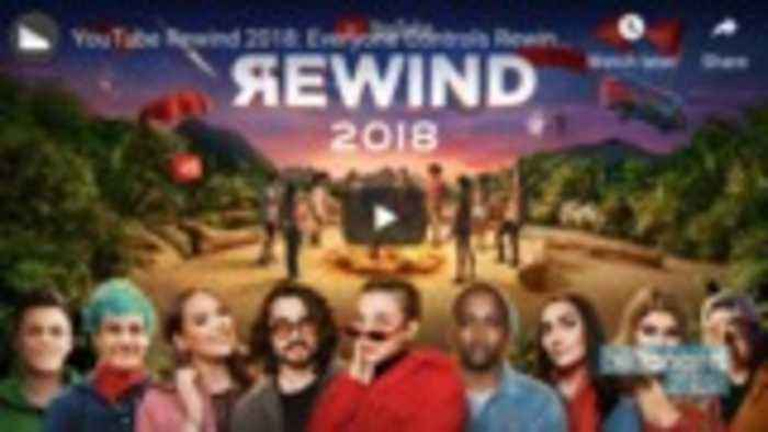 YouTube 2018 Rewind Officially Becomes Most Disliked Video on the Platform