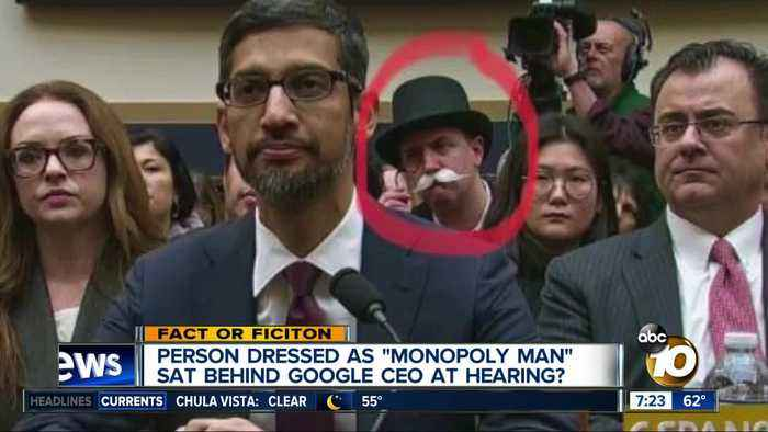 Monopoly Man at congressional hearing?