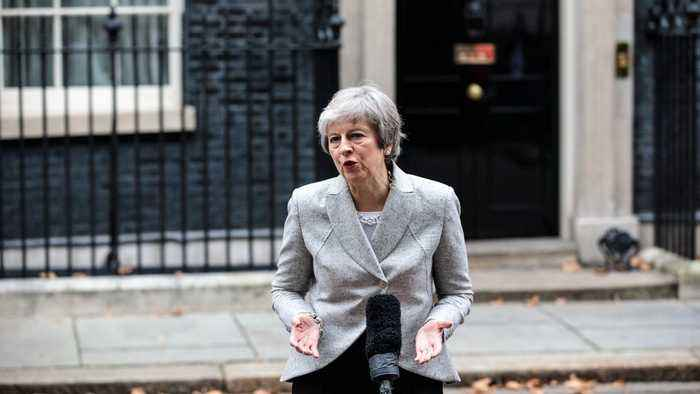 UK Prime Minister Theresa May Survives No-Confidence Vote