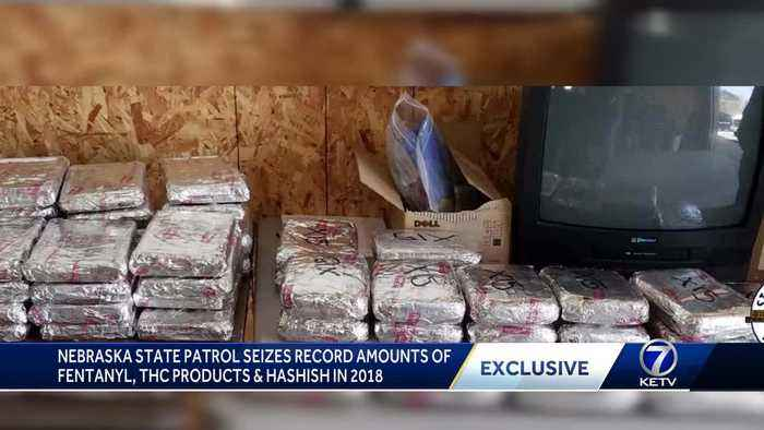 NSP seizes record amounts of fentanyl, THC products and Hashish in 2018