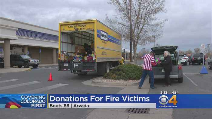 Boot 66 Nonprofit Collects Presents For Camp Fire Victims