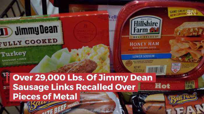 No Jimmy Dean Sausage With Metal Please