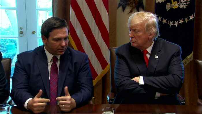 President Trump Welcomes Governors-Elect At White House