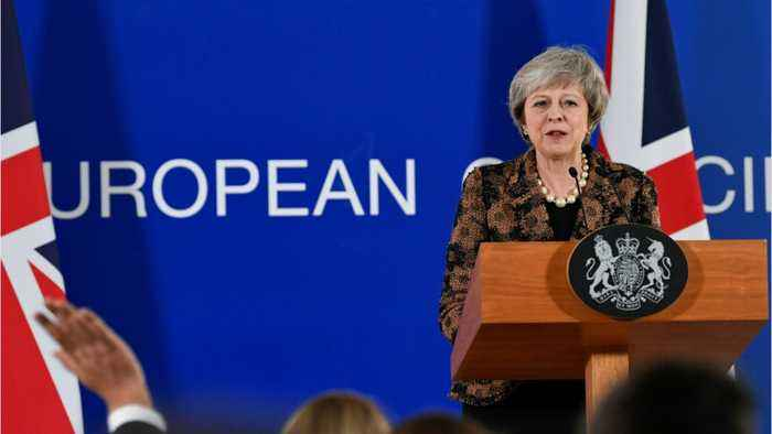 UK PM May Remonstrates With EU As Her Brexit Plea Is Cast As Humiliation