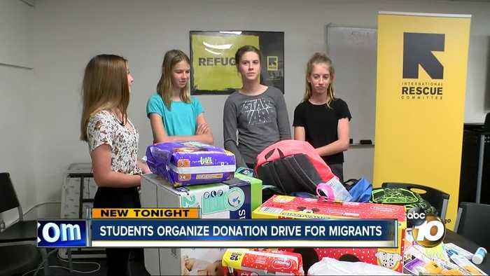 School project on refugees hits close to home for middle schoolers