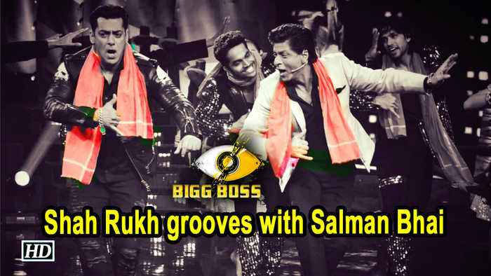 Shah Rukh grooves with Salman Bhai on Issaqbaazi at Bigg Boss 12