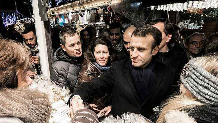 French president pays homage to Strasbourg victims