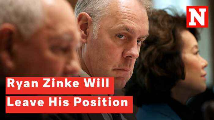 Interior Secretary Ryan Zinke Will Be Leaving His Position