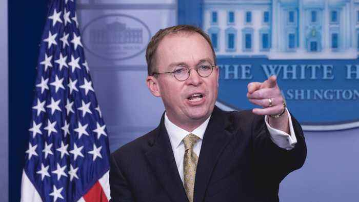 Mick Mulvaney Once Called Donald Trump A 'Terrible Human Being'