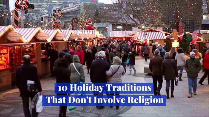 Ten Special Holiday Traditions With No Religion Attached