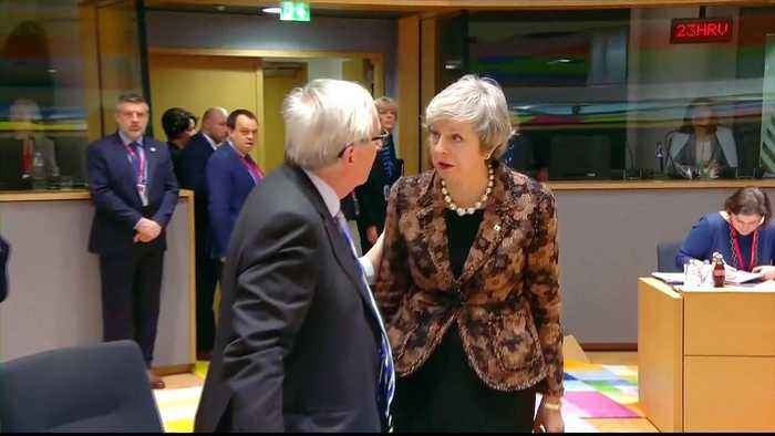 Brexit: May rebuffed by EU leaders in Brussels