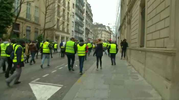 France prepares for a fifth weekend of 'yellow vest' protests