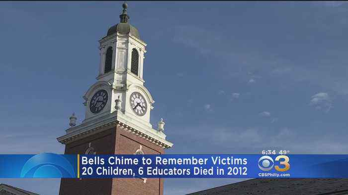 Bells Chime To Remember Sandy Hook Victims In Newtown