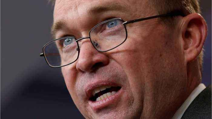 Trump Names Mick Mulvaney As 'Acting Chief Of Staff